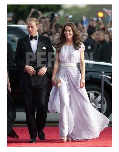 Kate A-Linie Promi-Kleid Abendkleid