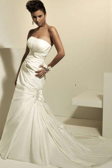 Schönes Meerjungfrau Brautkleider