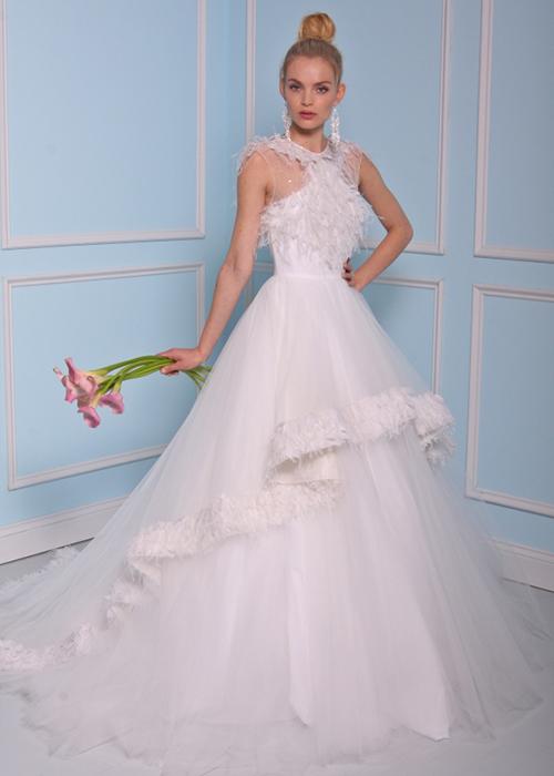Schön-Tüll-Brautkleider