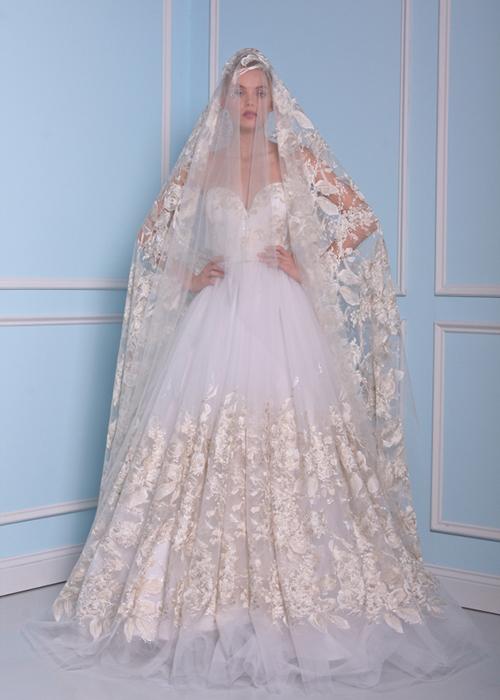 Vintage-Spitze-Tüll-Brautkleider