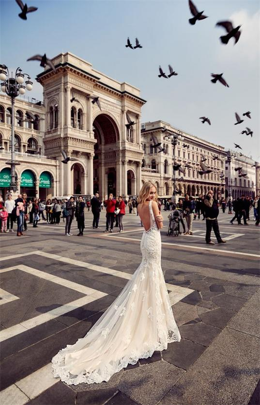 Hochzeitskleid-Rückenfrei