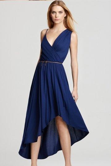 Abendkleidblau