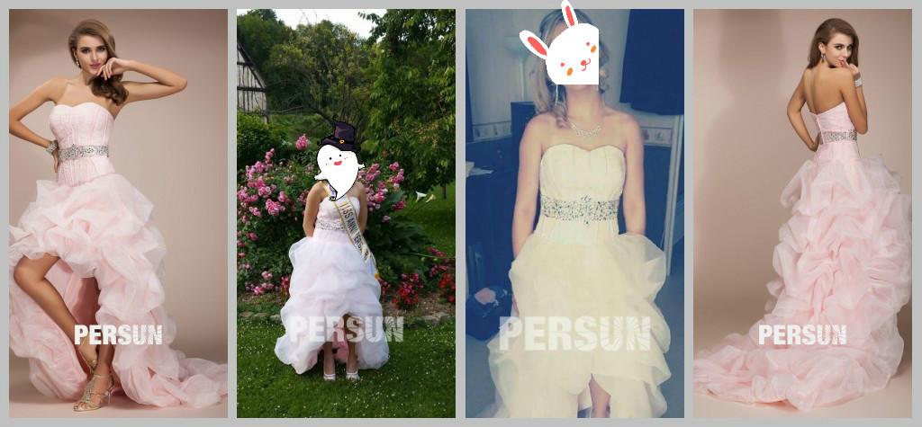 Trägerlos Brautkleider Abendkleider
