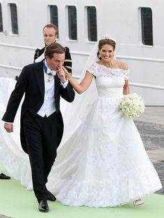 die schwedische Prinzessin Madeleine und Christopher O'Neill
