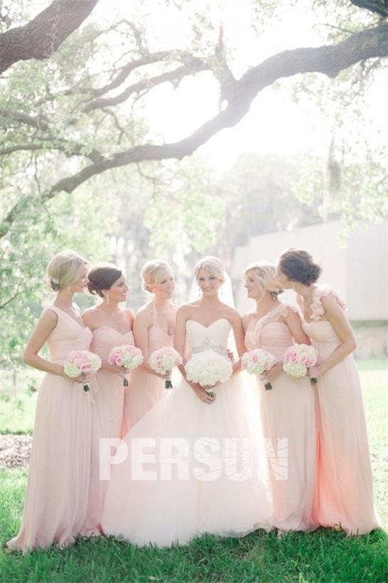 Hochzeitsmode-Kleider für Brautjungfern, Brautmutter und Hochzeitsgäste