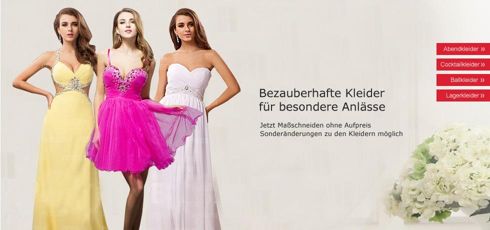 Abendkleider & Hochzeitskleider günstig 2014 / 2013, Kleider für ...